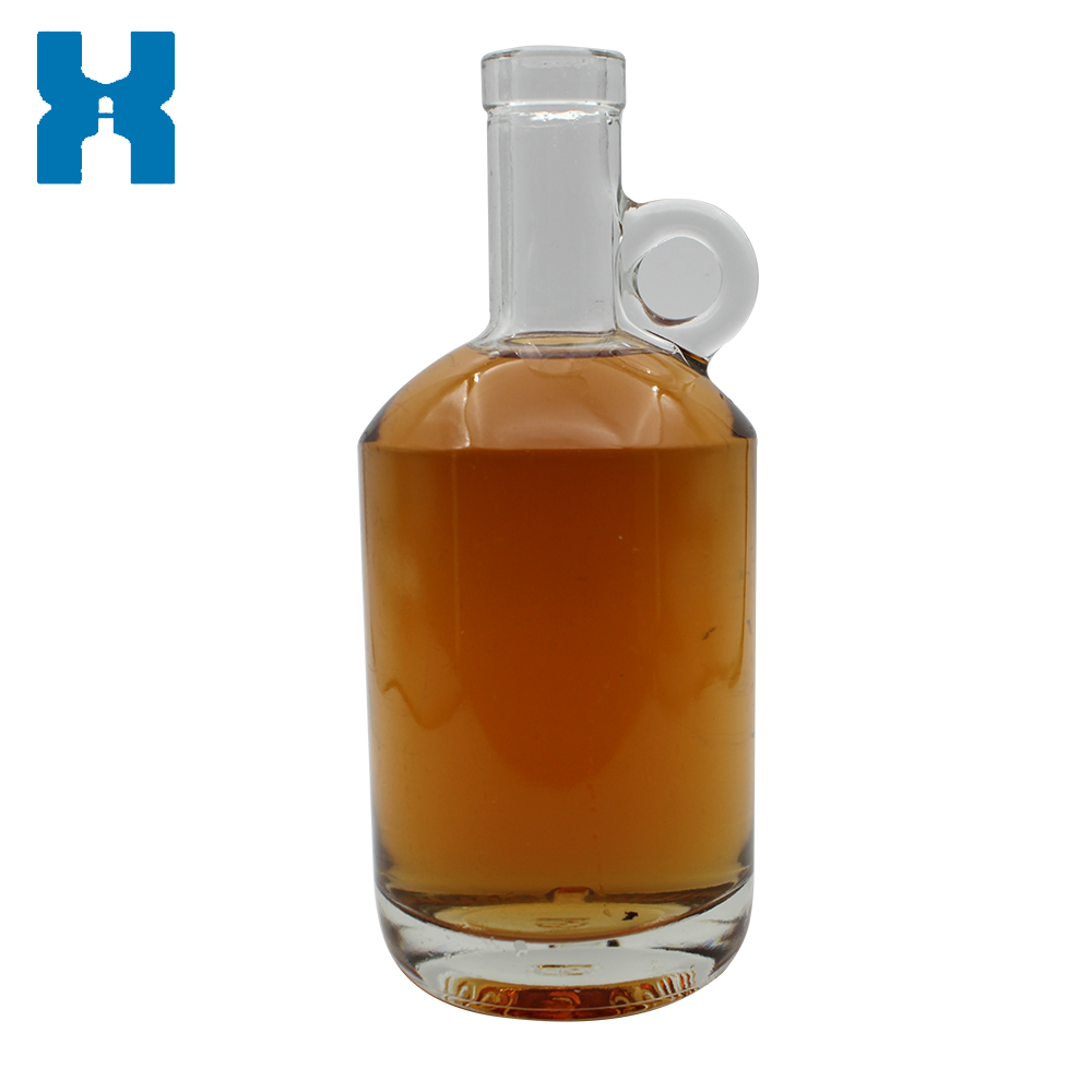 Clear Flint Glass Bottle 750ml Moonshine Bottle