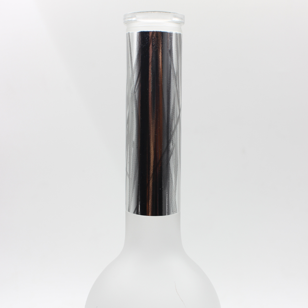 Frosted Customized 750ml Vodka Glass Bottle