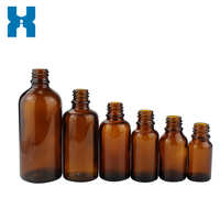 Wholesale 5ml 10ml 15ml Amber Essential Oil Glass Bottle
