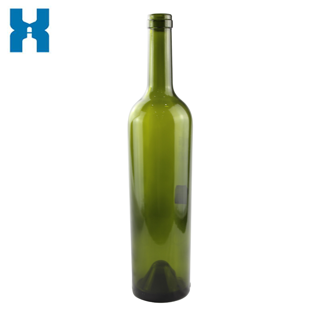 Cork Top 750ml Glass Bottle Wine