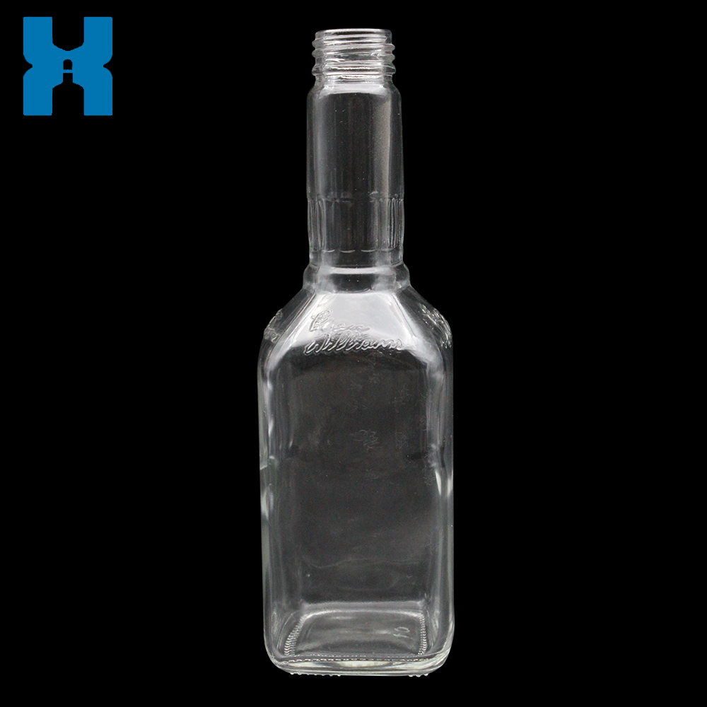 Super Flint Spirit Glass Bottle 375ml