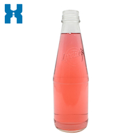250ml Beverage Glass Bottle Juice Bottle Glass Water Bottle Drinking Bottle