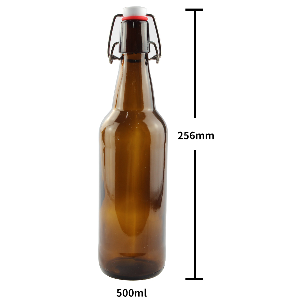 Swing Top 500ml Glass Bottle