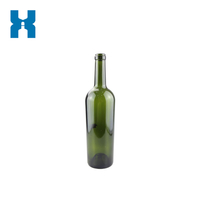 750ml Wine Glass Bottle