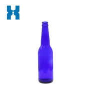 Blue Glass Bottle 330ml Beer Standard Glass Bottle