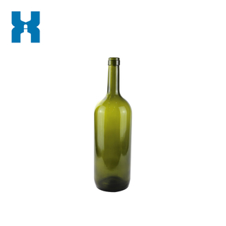 Dark Green 1.5L Wine Glass Bottle