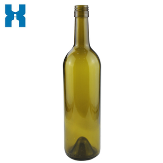 Glass 750ml Wine Bottle